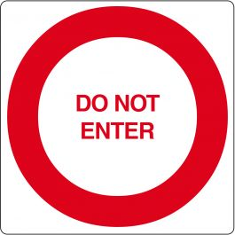 """Do not enter""-sticker (Maxi-Loka Premium)"