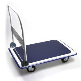 Stalen inklapbare plateauwagen, lvm. 300 kg