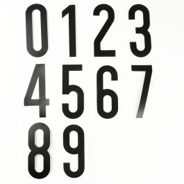 Set zelfklevende cijfers (0 t/m 9)