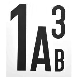 Magnetische Letters & Cijfers (per stuk)