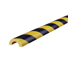 Knuffi stootrand leidingprofiel type R30 – geel-zwart – 5 meter