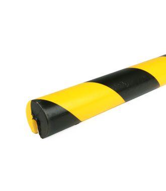 PRS stootrand randprofiel model 2 – geel-zwart – 1 meter