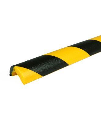 PRS stootrand leidingprofiel model 5 – geel-zwart – 1 meter