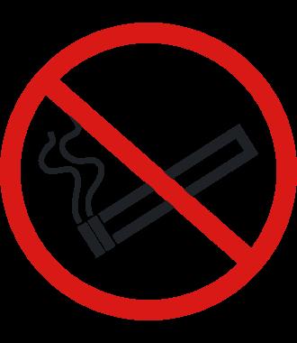 "Anti-slip-vloerpictogram ""verboden te roken"""