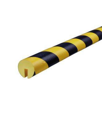 Knuffi stootrand randprofiel type B – geel-zwart – 5 meter