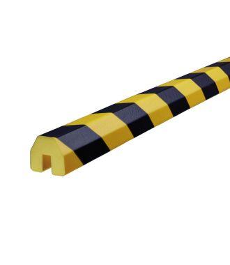Knuffi stootrand randprofiel type BB – geel-zwart – 5 meter