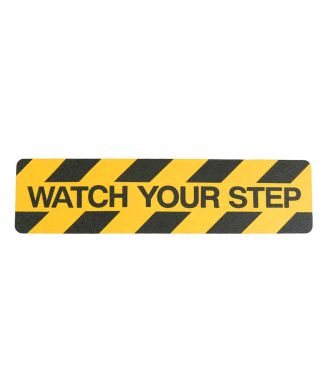 Watch your step anti slip tape
