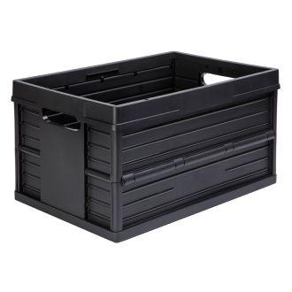 Evo Box plooibox 46 liter zwart