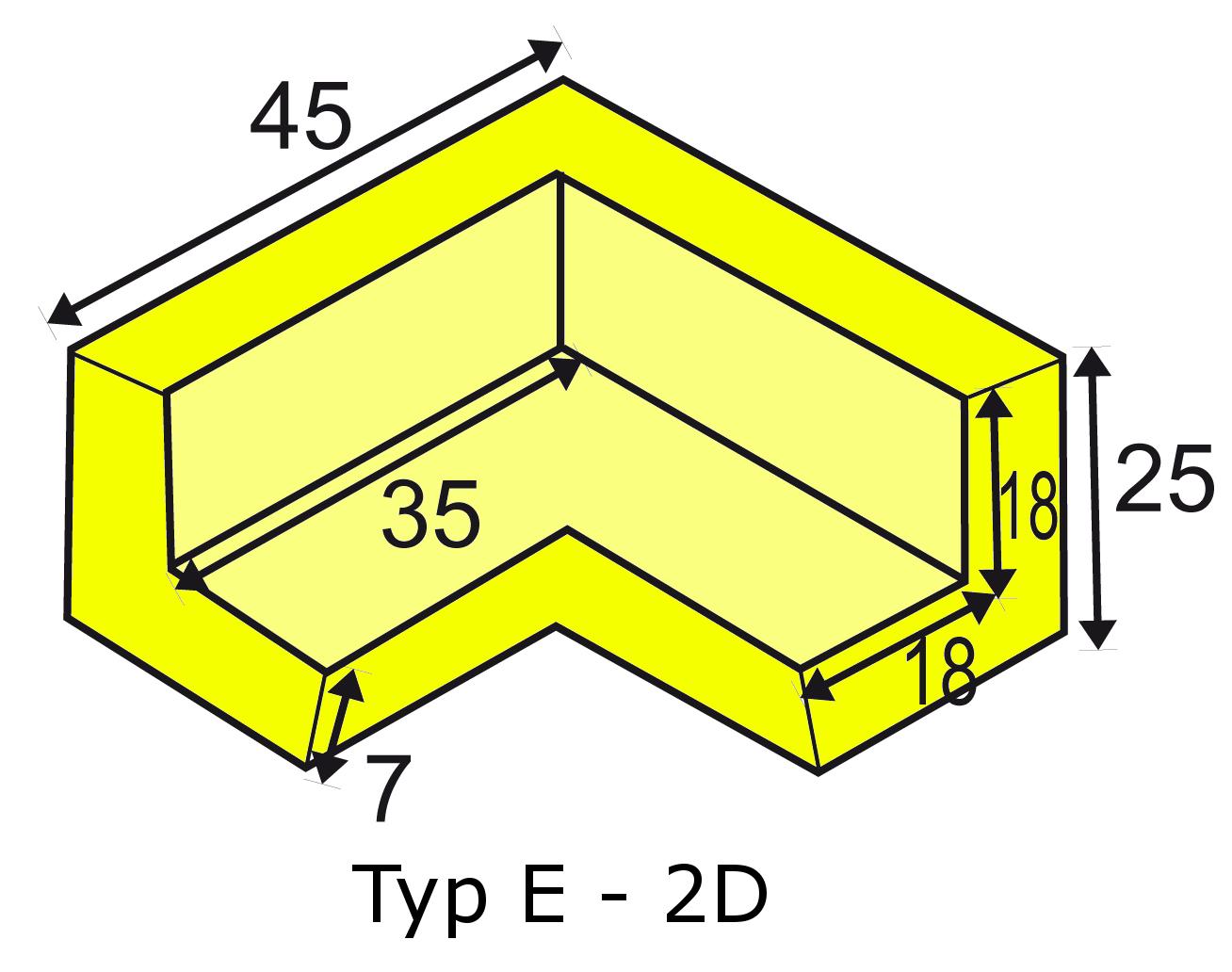 Knuffi multi-corner bumber E-2D type